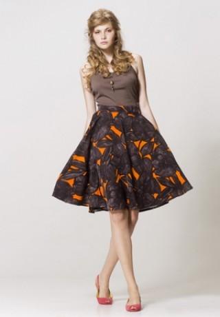 Популярные фасоны юбка солнце
