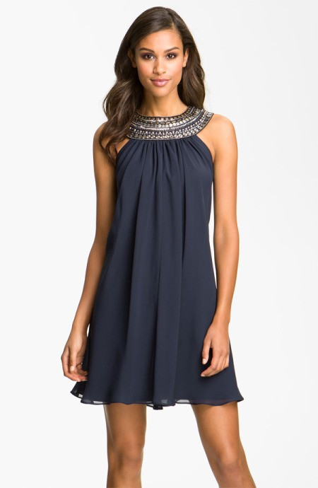 Платье-трапеция