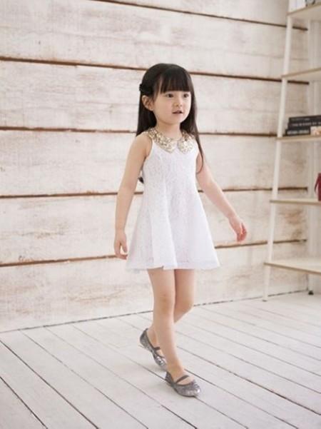 Летнее платье для дошкольницы