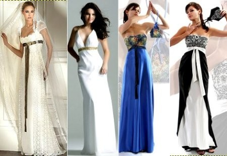 Платья ампир для невысоких женщин