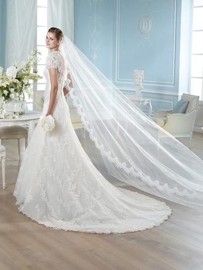 Необычные стили и решения для свадебного наряда