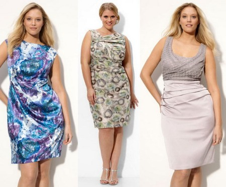 Платья для полных женщин на лето