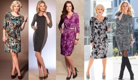 Фасоны нарядных платьев для женщин любой комплекции