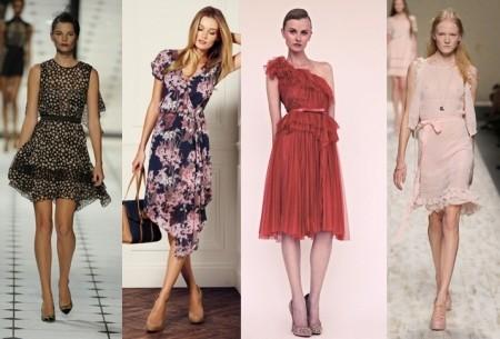 Популярные модели платьев на лето