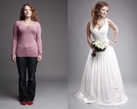 Выбираем подходящий фасон свадебного длинного платья