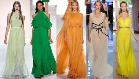Летние платья в пол