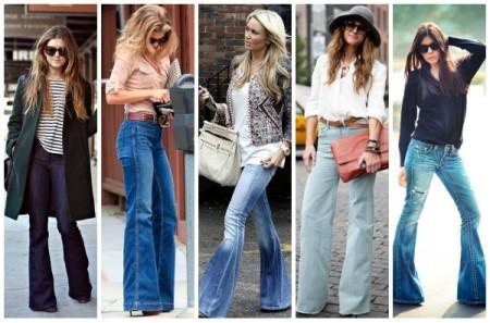 пять девушек в джинсах