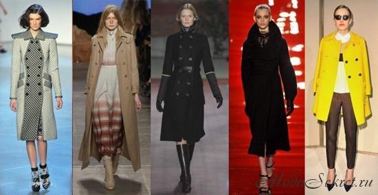 пальто осень-зима 2012-2013
