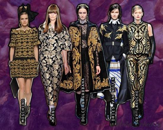 что модно зимой 2013