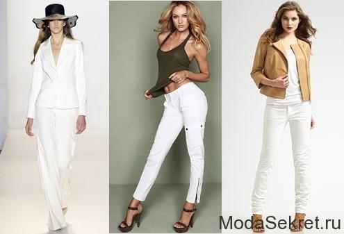 жакеты и майки с белыми джинсами