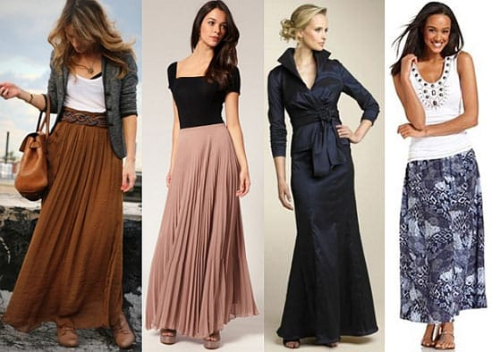 С чем носить длинную юбку: модные веяния и советы стилистов
