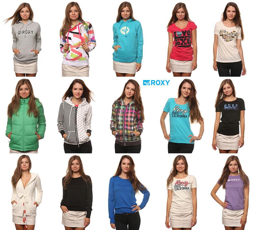 Оригинальная, стильная и качественная одежда от бренда Roxy
